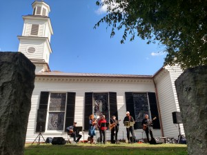 Oak Lane plays at St. John's Church